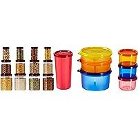 Amazon Brand - Solimo Plastic Jar