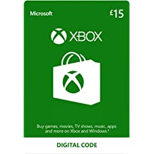 Xbox Live £15 Credit | Xbox Live Download Code