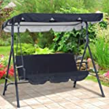 Replacement Canopy Swing Seat Chair,Swing Chair Canopy Replacement,Waterproof/UV Resistant Swing Canopy Cover, Cover…