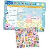 Paper Projects 01.70.30.022 Peppa Pig Potty and Toilet Training Reward Chart and 56 Sparkly Stickers, Pink