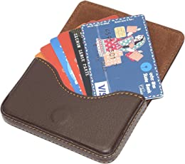 Card holders buy card cases online at best prices in india amazon riatech stylish pocket sized stitched leather visiting card holder coffee brown reheart Image collections