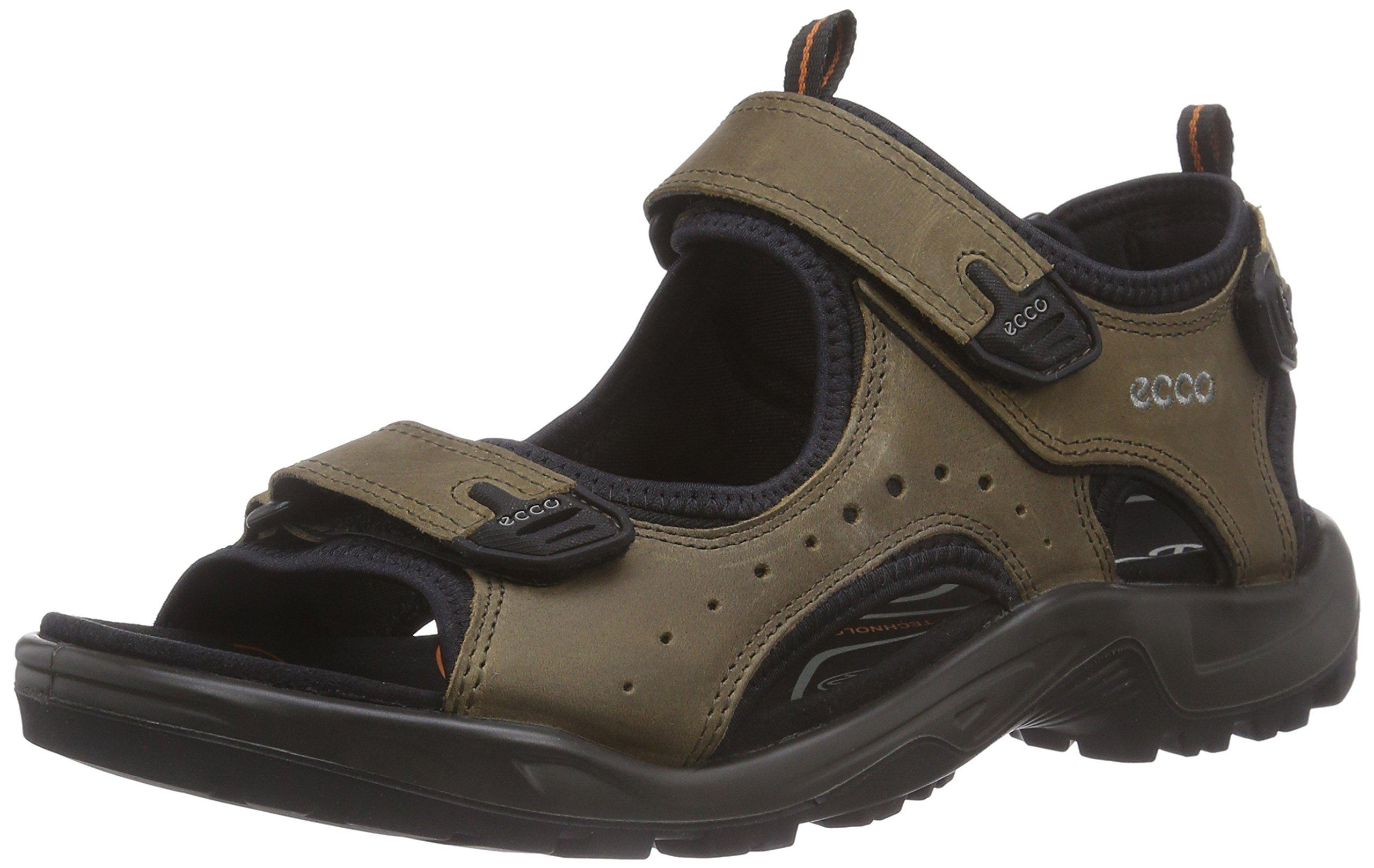 c33d0ab95f8c ECCO Men s Offroad Peeptoe Sandals. Ecco 822094 Offroad – 01280 Brandy Pull  Up