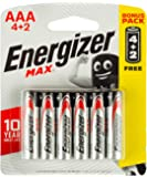 Energizer Max Alkaline AAA Batteries - Pack of 6