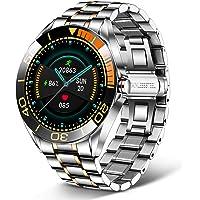 LIGE Smartwatch Uomo da 1,3 Pollici, con Touch Screen, Pressione Arteriosa, Orologio Fitness Impermeabile IP68 in…