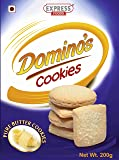 Express Foods Pure Butter Dominos Cookies, 200G