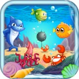 Hungry fish evolution - tap, eat, and grow