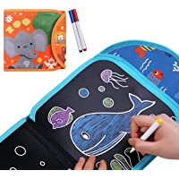 ARVANA Colouring Books for Kids Doodle Drawing Paper Pad , Writing Toys, Painting Books with Markers and Wipes for…