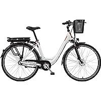 Telefunken E-Bike Elektrofahrrad Alu, mit 7-Gang Shimano Nabenschaltung, Pedelec Citybike leicht mit Fahrradkorb, 250W…
