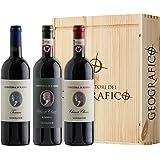 Cassetta da 3 bottiglie: Chianti Classico DOCG, Chianti Classico DOCG Riserva e Toscana IGT Contessa di Radda Geografico 3 bo
