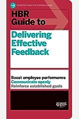 HBR Guide to Delivering Effective Feedback (HBR Guide Series) Paperback