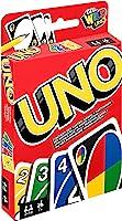 Mattel Games W2087 - UNO Kartenspiel, geeignet für 2 - 10 Spieler, Spieldauer ca. 15 Minuten, Gesellschaftsspiele und...