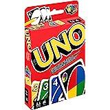 Mattel Games W2087 - UNO Kartenspiel und Gesellschaftspiel, geeignet für 2 - 10 Spieler, Kartenspiele und Gesellschaftsspiele