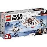 LEGO 75268 StarWars SpeederdeNieve con Moto Speeder, Estación de Defensa y 2 Mini Figuras, Juguete de Construcción