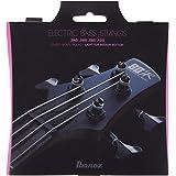 Ibanez IEBS4C Jeu de cordes pour basse électrique, 4 cordes/Light pour les aigus, Medium pour les graves, à revêtement