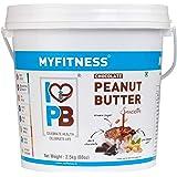 I LOVE PB MYFITNESS Chocolate Peanut Butter Smooth 2.5 kg, CHOCOLATE SMOOTH