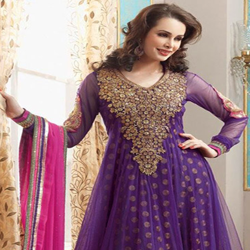 Umbrella Dress Designs For Indian Girls Vol 1 - Kameez Kurti