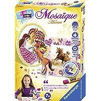 Ravensburger - Mini coffret Mosaïque - Thème Cheval - 2 modèles - Loisir créatif - Kit d'activités enfants à partir de 7…