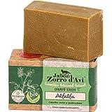 Jabón Zorro D'Avi | Solid Alfalfa Shampoo | 120 gr | Fragile and damaged hair | Zero Waste Solid Shampoo | Open End Closer |