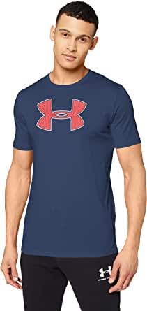 Under Armour Men's Ua Big Logo Ss Sports T Shirt with Logo, Super-Soft Sportswear