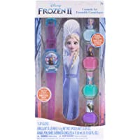 Townley Girl Frozen II - 4Pk Nail Polish W/Lip Gloss Watch
