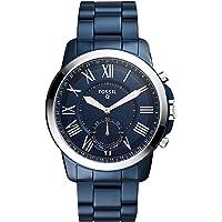 FOSSIL Q Grant – Smartwatch hybride homme - Montre connectée au look classique - Cadran et bracelet en acier inoxydable…