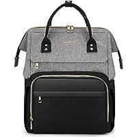 LOVEVOOK Laptop Rucksack Damen Stylischer Schultasche Mit 15,6 Zoll Laptopfach, Rucksacktasche Groß Mit USB…