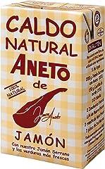 Aneto Caldo Natural de Jamón, 100% Natural, 1L