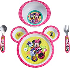 The First Year Feeding Set - Minnie (Pink, 4 Pieces)