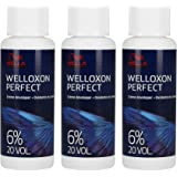 Wella Welloxon Perfect, Oxidante en crema, 6% 3 x 60 ml = 180 ml