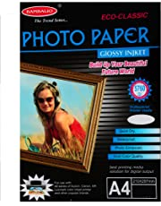 Bambalio BPG 180-50 (Classic) Glossy Photo Paper, A4 Size, 180 GSM - Pack of 50
