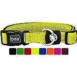 DDOXX Collare Cane Nylon Collari per Cani M Cuccioli Taglia Piccola Media Grande per Cani Piccoli Medi e Grandi Regolabile Collarino Gatto Rosa Pink Tanti Colori e Taglie Gatti