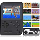 Handheld Game Console, Retro Mini Game Player, 400 Klassiska FC-spel, Support för att ansluta TV och två spelare med laddning