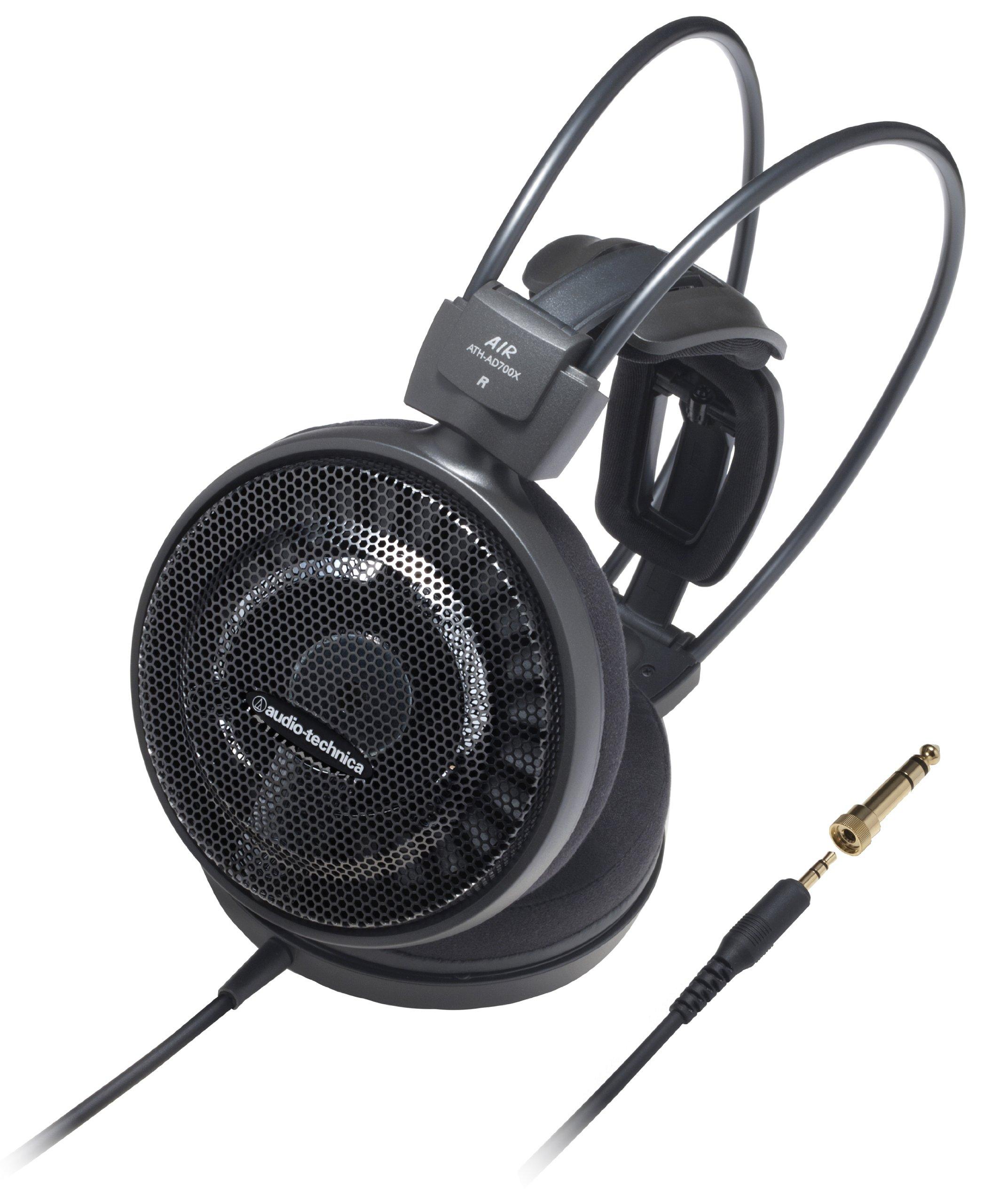 Audio Technica ATH-AD700X On-Ear Ausinės (6,3mm Klinkenstecker) schwarz