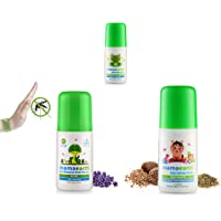 Mamaearth After Bite Roll On for Rashes & Mosquito Bites with Lavander & Witchhazel, 40ml & Natural Anti Mosquito Body Roll On, 40ml & Easy Tummy Roll On for Digestion 40Ml Combo