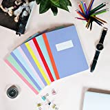 Fun Lines Premium 240 mm x 180 mm Single Line Ruled Notebook ,160 pages (Pack of 6) - ( 24 x 18 cm )