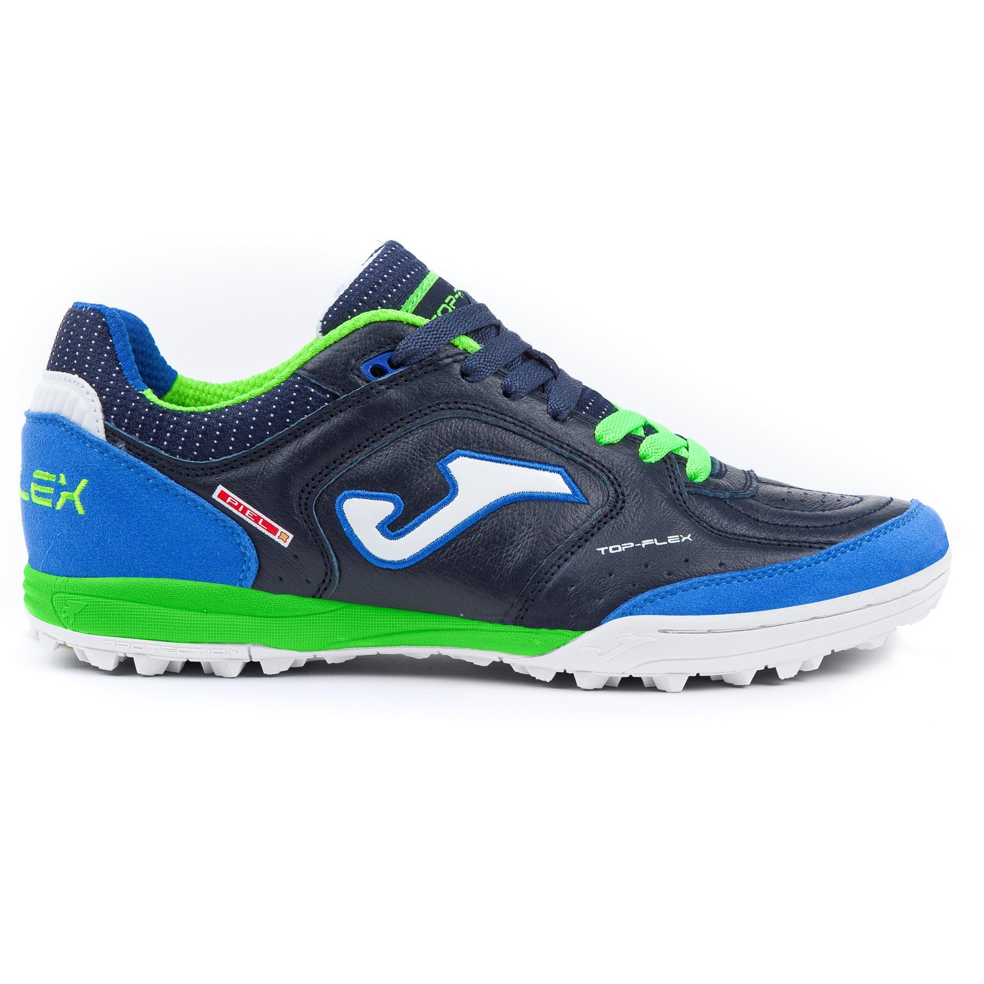 factory authentic bf291 9f2c3 Joma Top Flex 803 Marino Turf - Scarpe Calcetto Uomo - Erba Sintetica -  Men's Futsal Shoes - FACESHOPPING
