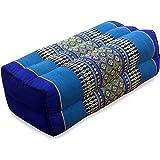 35x18x12 cm Kapok Leewadee Yoga Block 4er-Set Yogaklotz Pilates Yogakissen Meditationskissen /Ökologisches Naturprodukt