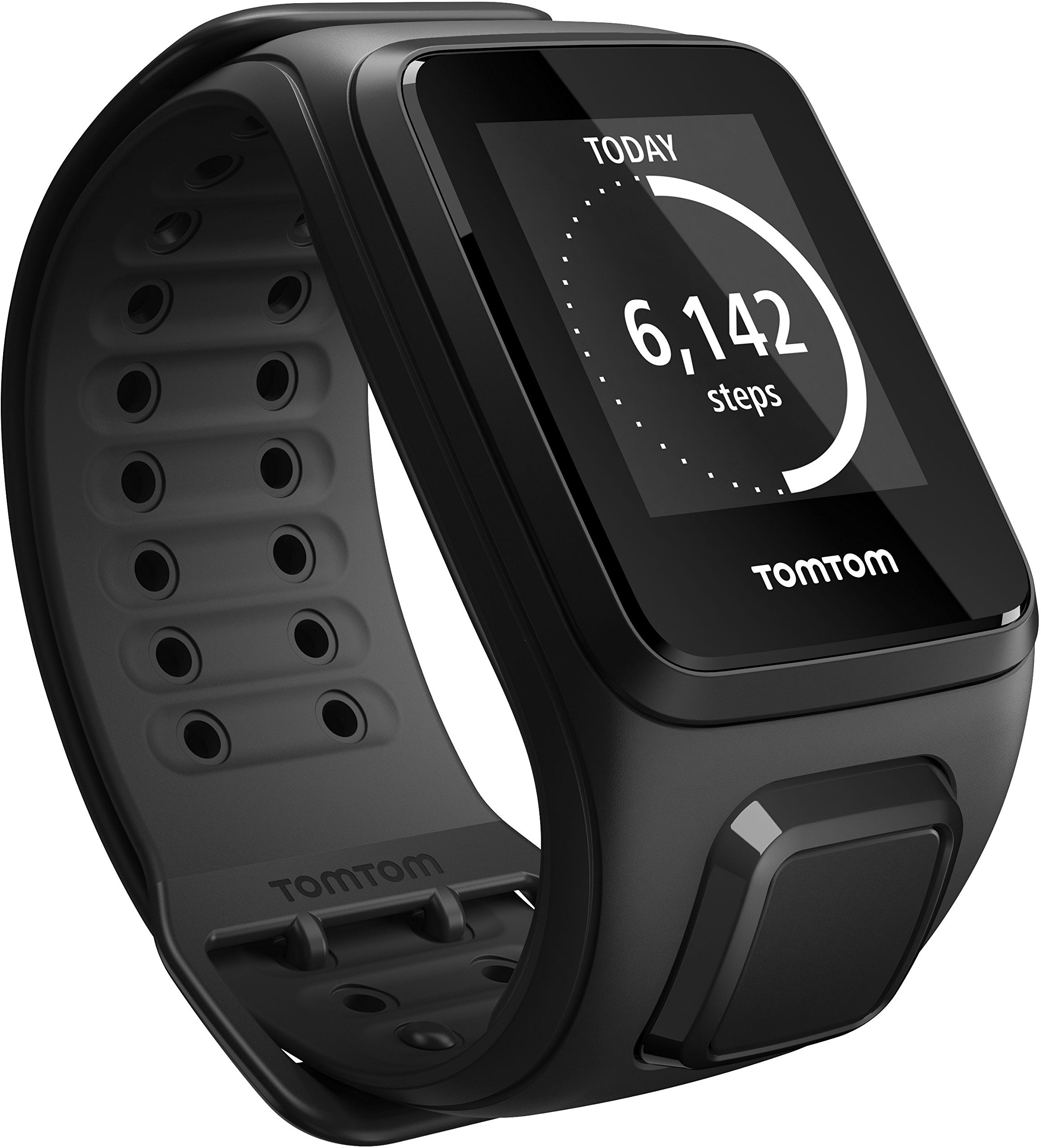 81lKXieWA4L - TomTom Spark GPS Multi-Sport Fitness Watch with Music, Small Strap - Black