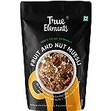 True Elements Muesli Fruit and Nuts 1.2kg - Super Saver Pack, Cereal for Breakfast, Healthy Food