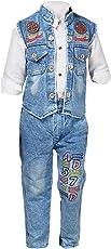 Nikky Fashion Boys Waistcoat, Shirt and Trouser Set_583