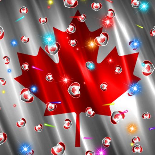 Canada Flag Heart