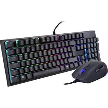 Cooler Master MasterSet MS120 RGB Mem-chanical Gaming Keyboard and Mouse  Combo