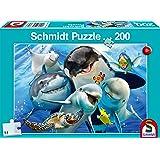 Schmidt Spiele- Puzzle 200 pièces pour Enfants, 56360, coloré