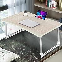 KELOFO Table de Lit Pliable pour Ordinateur Portable, Support Ordinateur Portable avec Support de Tasse/Support de…