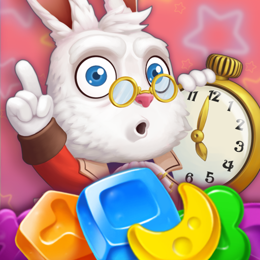 WonderMatchTM-free Match 3 Puzzle game 2020-Swap jellies & candies in Alice's brand new fun 3 in a row Adventure quest with cool graphics! Journey to magical Candy & Jelly HD world for Kindle Fire!