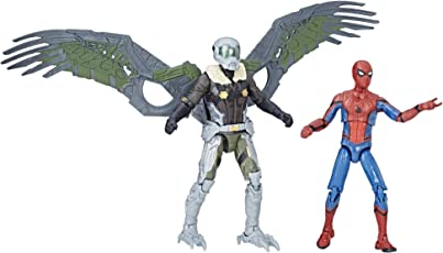 Marvel Legends Spider Man Homecoming Spider Man and Vulture Figures 2 Pack, Multi Color (3.75 inch)