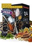 Gewürz Adventskalender 24x20g I Adventskalender mit 24 Gewürzspezialitäten I aromatischer Weihnachtskalender I…