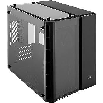 Corsair Crystal 280X Case per PC Micro ATX Vetro Temperato, Nero