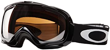 oakley elevate  Oakley Unisex-Adult Elevate Snow Goggles(Jet Black,Black Iridium ...