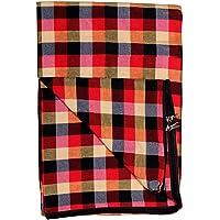 IMSmartMart Cotton 250 TC Mattress Cover (Multicolored_King) Mattress Cover 72x36x4 Inches